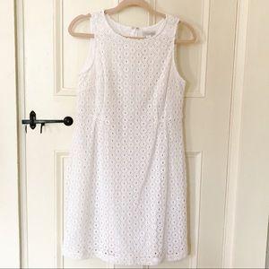 NWT Garnet Hill Eyelet Summer Dress
